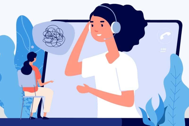 Psychoterapia online, wizyta upsychiatry online